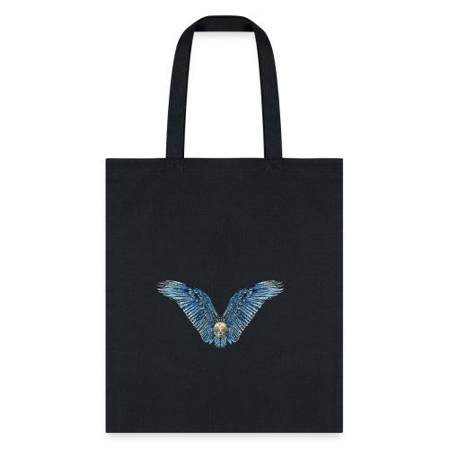 Wings Skull - Tote Bag