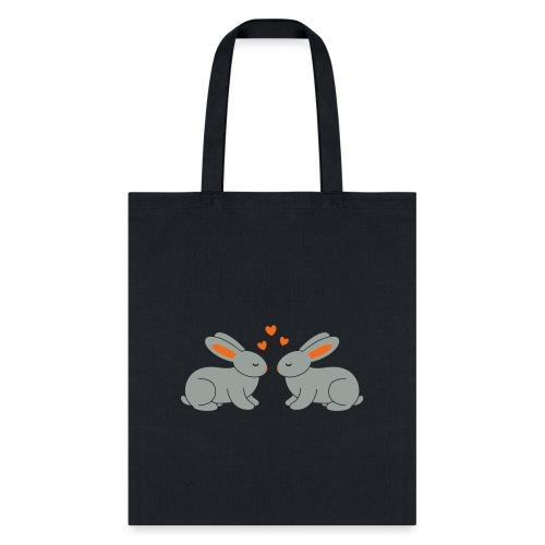 Rabbit Love - Tote Bag