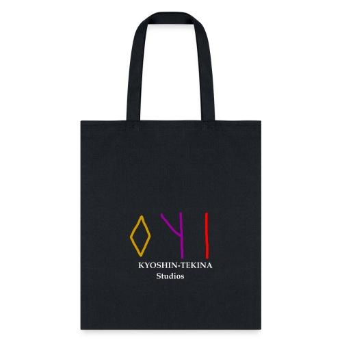 Kyoshin-Tekina Studios logo (white text) - Tote Bag