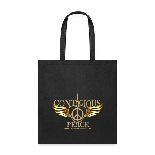 Contagious Peace T-Shirt - Tote Bag