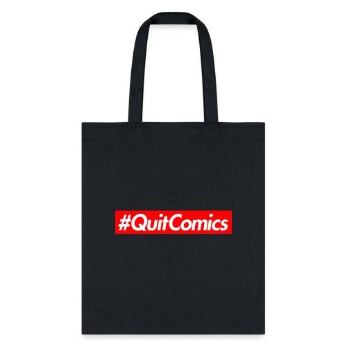 quit comics cropped jpg - Tote Bag