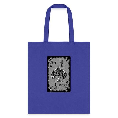 Axelofabyss Spade Card - Tote Bag