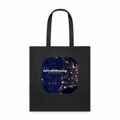 "InovativObsesion ""TURN ON YOU LIGHT"" Apparel - Tote Bag"