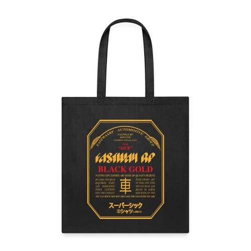 Fastway Beer Can Black Gold - Tote Bag