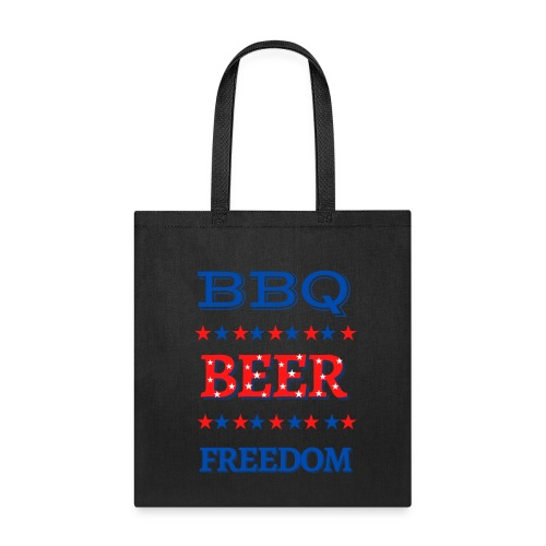 BBQ BEER FREEDOM - Tote Bag