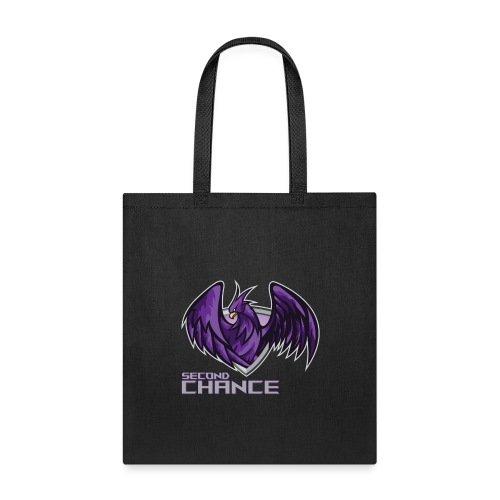 Second Chance Text Only - Tote Bag