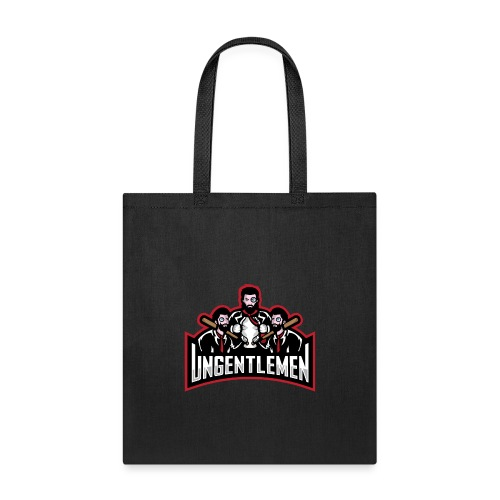 Ungentlemen Text Logo - Tote Bag