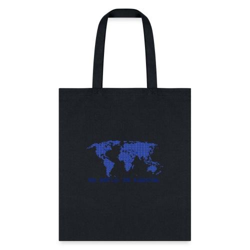 digital world - my world is digital - Tote Bag