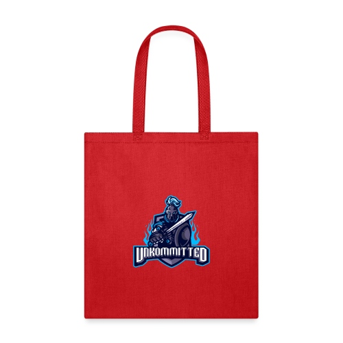 Unkommitted Text Logo - Tote Bag