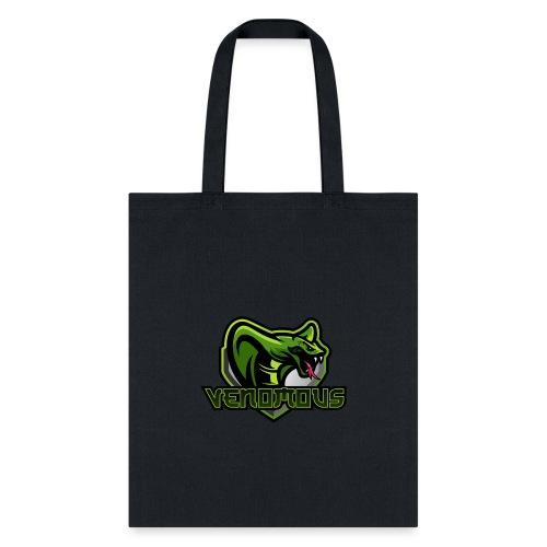 Venomous Text Logo - Tote Bag