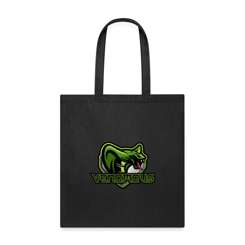 Venomous Text Logo - Tote Bag