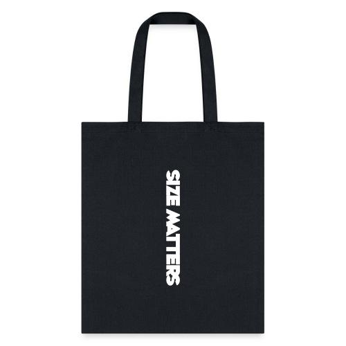 SIZEMATTERSVERTICAL - Tote Bag