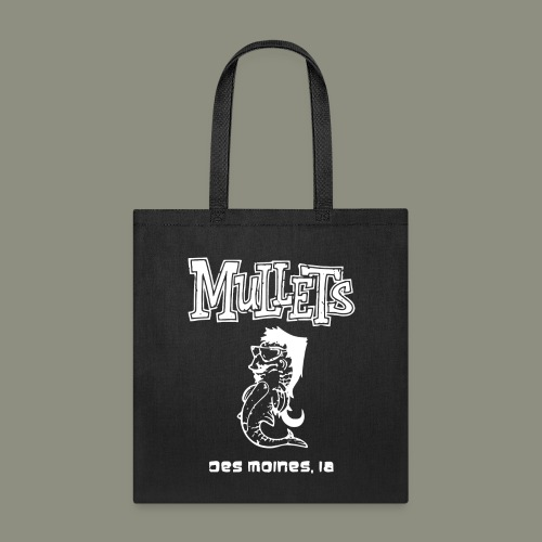 mulletmain white - Tote Bag