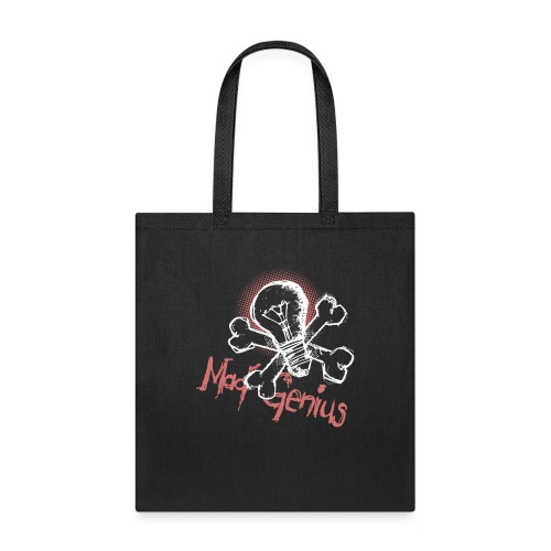 Mad Genius - On Dark - Tote Bag