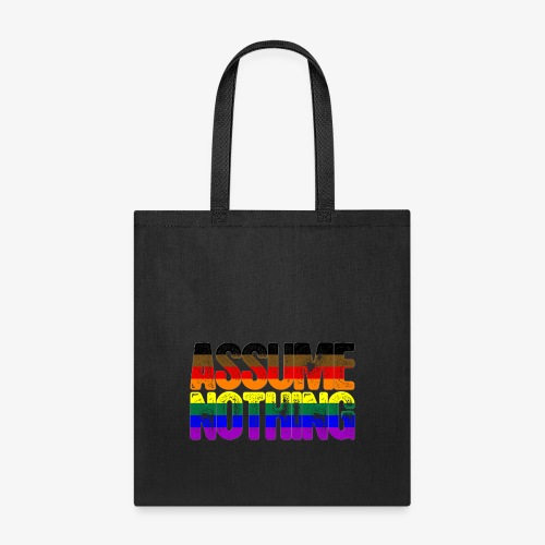 Assume Nothing Philly LGBTQ Gay Pride Flag - Tote Bag