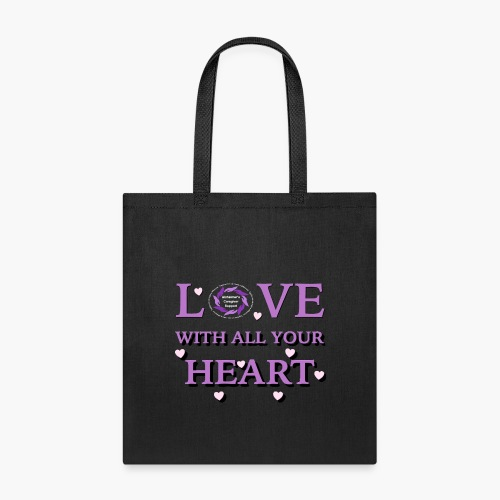 Love w/all your heart - Tote Bag