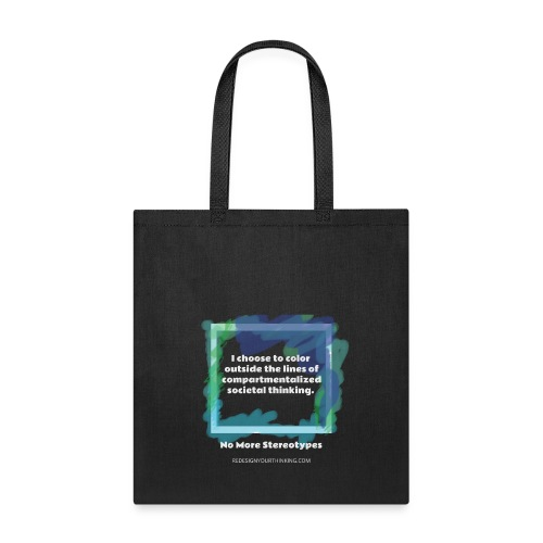 Color Outside the Lines! - Tote Bag
