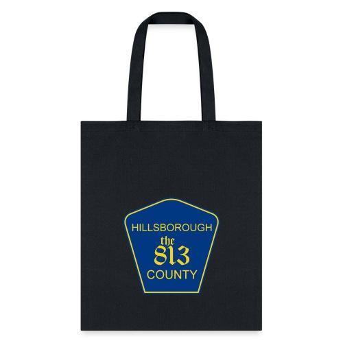 Hillsborough the813 County - Tote Bag