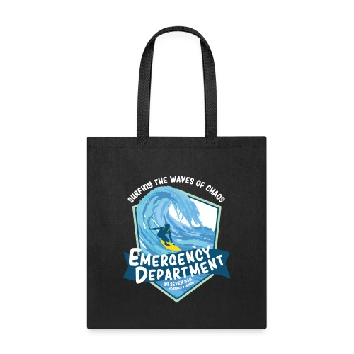 Surfing the waves of chaos - Tote Bag