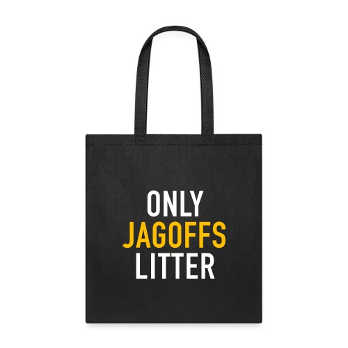only jags litter - Tote Bag
