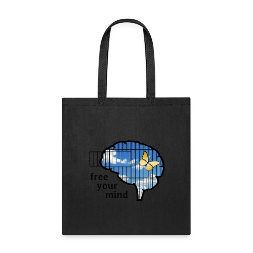 free your mind - Tote Bag