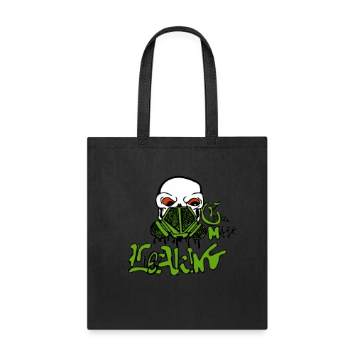 Leaking Gas Mask - Tote Bag