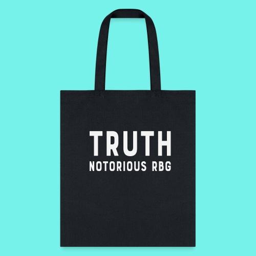 Vintage Truth Notorious RBG shirt,Ruth Bader Shirt - Tote Bag