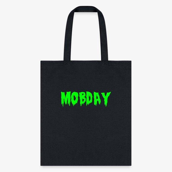 Mobday Toxic Horror Logo
