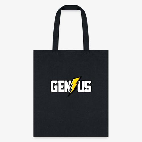 Speed of Genius - Tote Bag