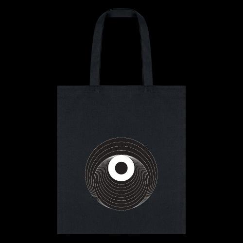 Black Dirt Vortex Logo Dark - Tote Bag