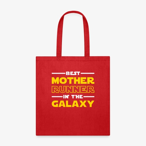 Best Mother Runner In The Galaxy - Tote Bag