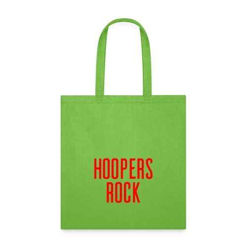 Hoopers Rock - Red - Tote Bag