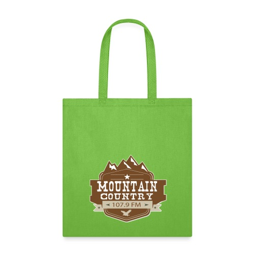 Mountain Country 107.9 - Tote Bag