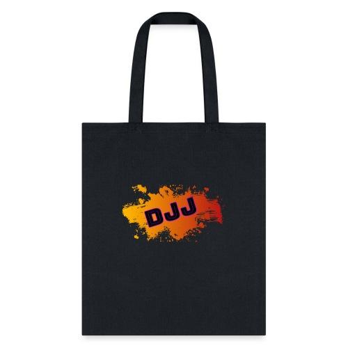 DJJ-Orange Splash (Accessories) - Tote Bag