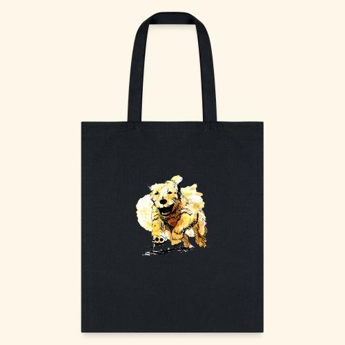 oil dog - Tote Bag