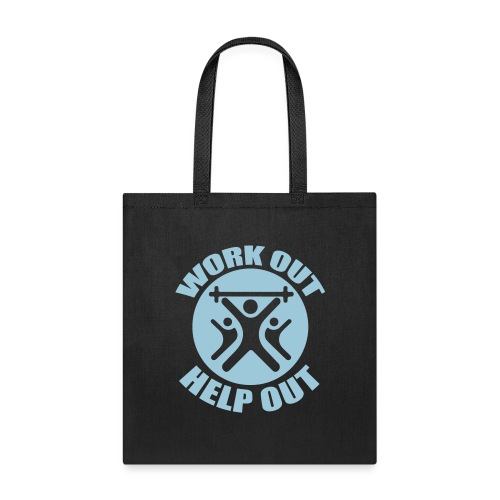 Work Out Help Out- Hat - Tote Bag