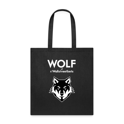 Wolf of Wallstreetbets - Tote Bag