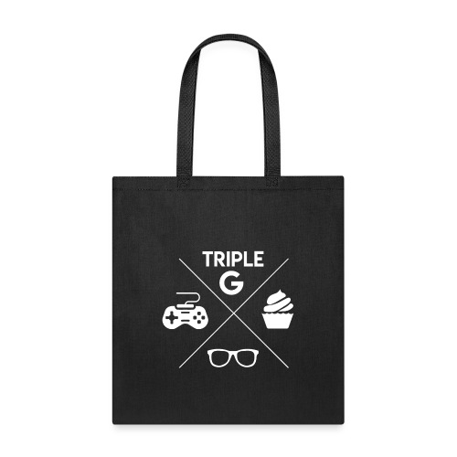 Triple G Crest - White Design - Tote Bag