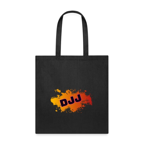 DJJ-Orange Splash (Accessories) - Tote Bag