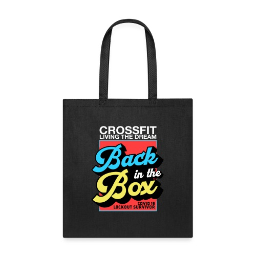 Back in the Box Black - Tote Bag