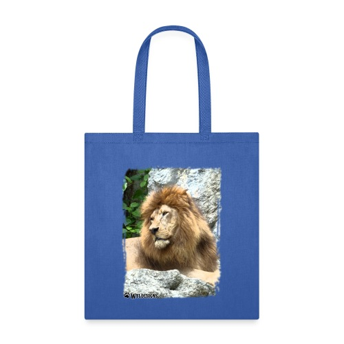 Lion On Rocks - Tote Bag