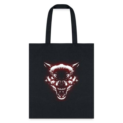 Angry Wolf - Tote Bag