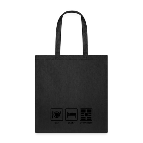 Eat Sleep Urb big fork - Tote Bag