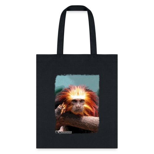 Monkey On Branch - Tote Bag