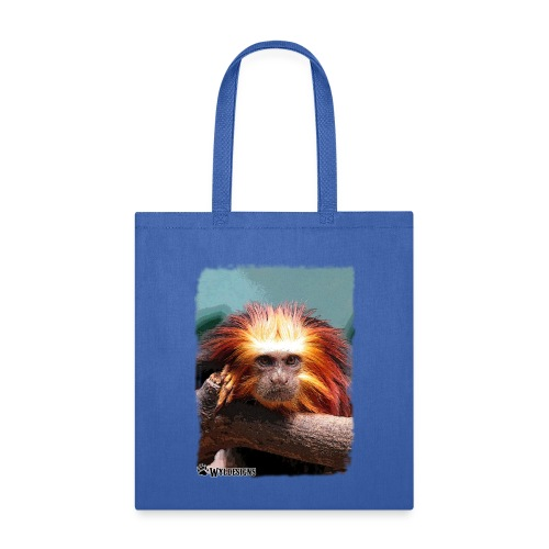 Monkey On Branch - Tote Bag