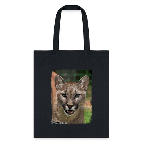Cougar Stare - Tote Bag