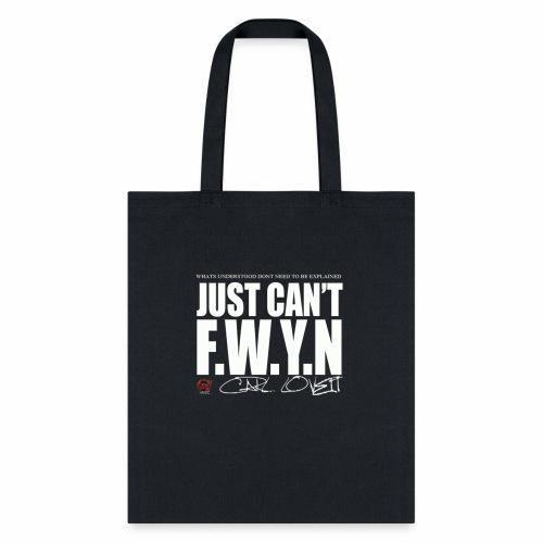 FWYN in White - Tote Bag