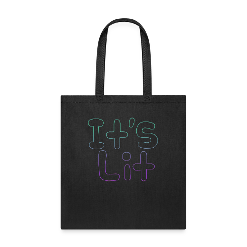 2-Tone It's Lit! Design - Tote Bag