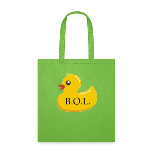 Official B.O.L. Ducky Duck Logo - Tote Bag
