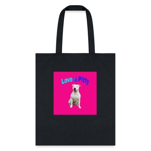 Pink Pit Bull - Tote Bag